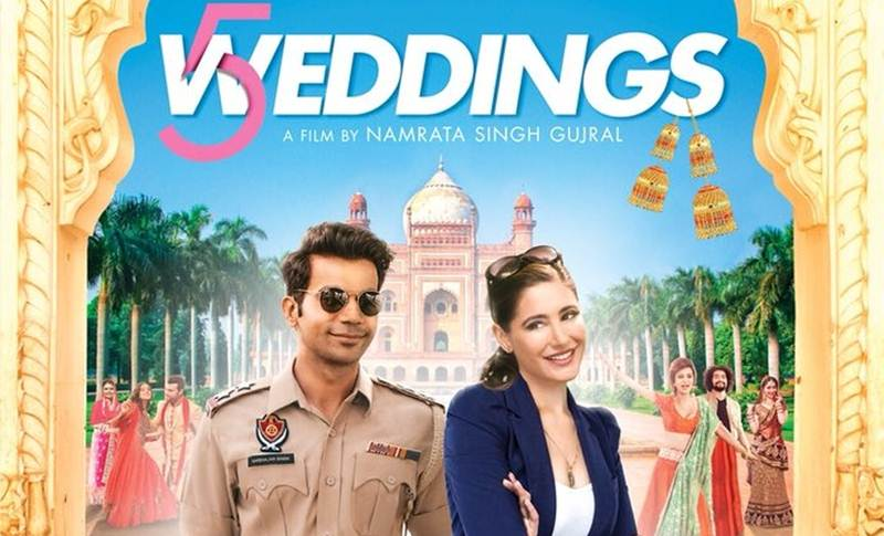5 weddings movie review